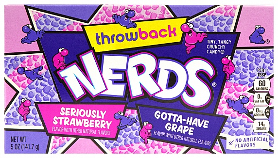 Wonka Nerds Seriously Strawberry 141.7g