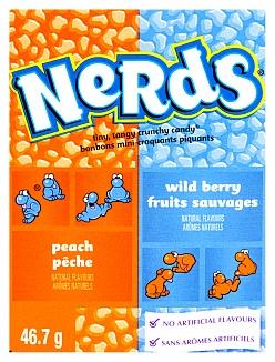 Wonka Nerds Peach wild Berry 46,7g