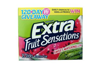 Wrigleys Extra sweet watermelon 40,5g