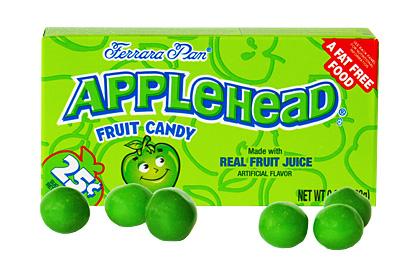 Applehead jablkové 23g