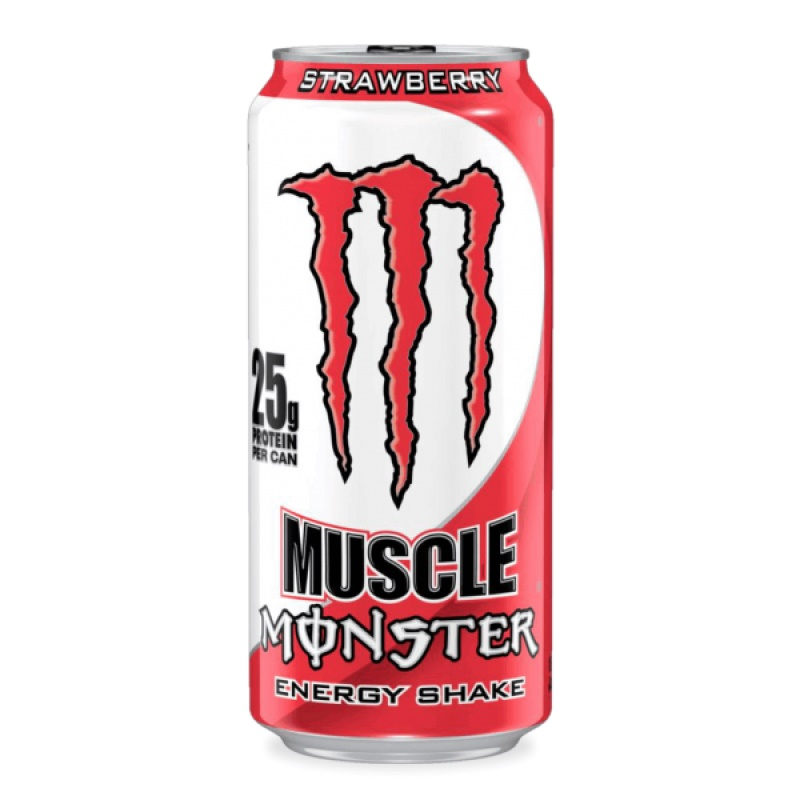 Monster Muscle strawberry energ.nápoj 443ml