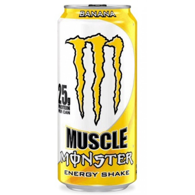 Monster Muscle banana energ.nápoj 443ml