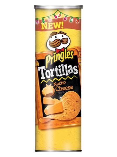 Pringles Tortillas Nacho Cheese 182g