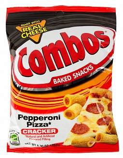 Combos Pepperoni Pizza Cracker 178,6g