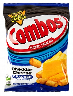 Combos Cheddar cheese Cracker 178,6g