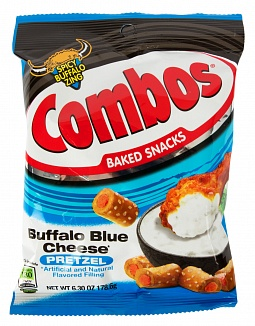 Combos Buffalo blue cheese Pretzel 178,6g