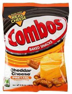 Combos Cheddar cheese Pretzel 178,6g