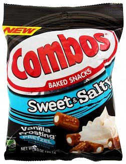 Combos Sweet&salty Vanilla frosting Pretzel 170,1g
