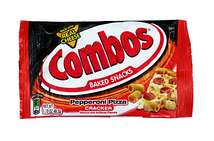 Combos Pepperoni Pizza Cracker 48,2g