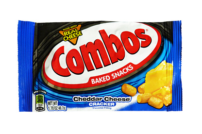 Combos Cheddar cheese Cracker 48,2g