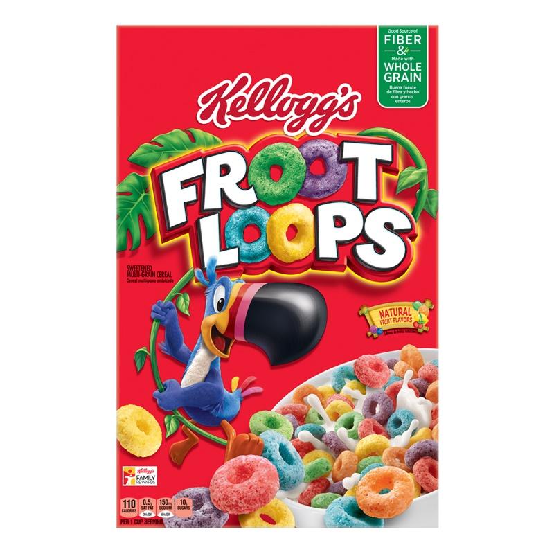 Kelloggs Froot Loops 345g