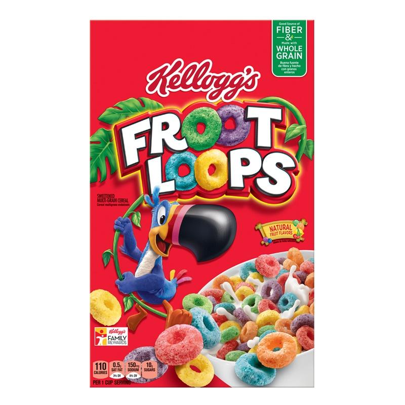 Kelloggs Froot Loops 481g