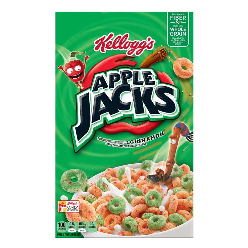Kellogg´s Apple Jacks 481g