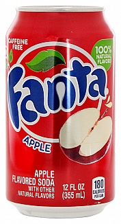 Fanta Apple plech. 355ml