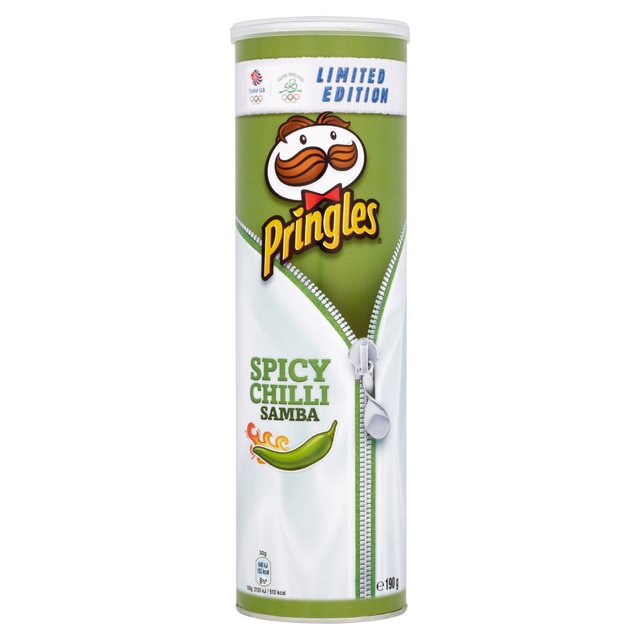 Pringles spicy chilli samba 190g