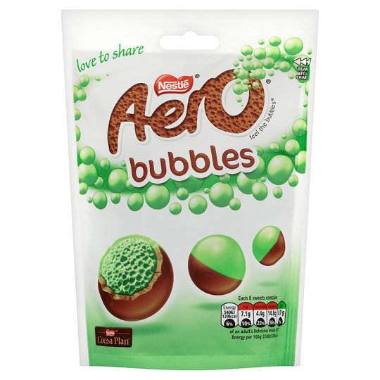 Nestle Aero bubbles mint 113g