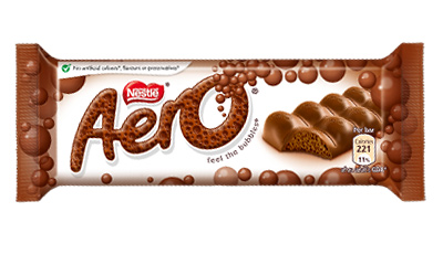 Nestle Aero milk chocolate 36g