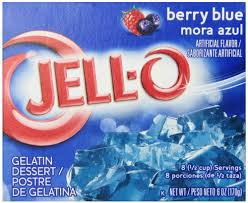 Jell-o berry blue 85g