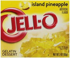 Jell-o pineapple 85g
