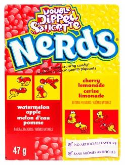Wonka Nerds Watermelon Apple/Cherry Lemonade 47g