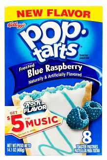 Pop tarts frosted Blue Raspberry 400g