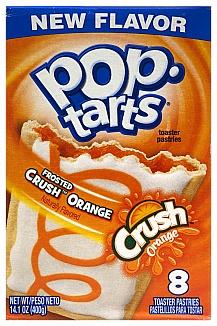 Pop tarts frosted Crush Orange 400g