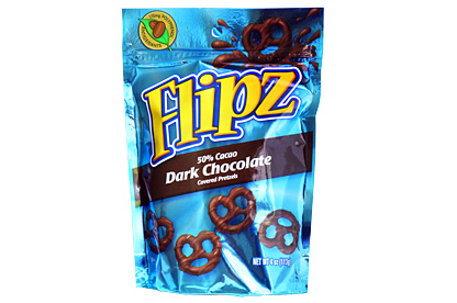 Flipz Dark  Chocolate 113g