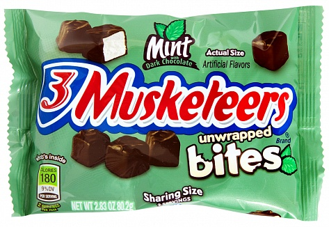 3 Musketeers Mint Bites 80,2g