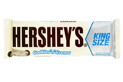 Hershey´s cookies ´n´ creme 73g King size