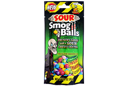 Toxic Waste Sour Smog Balls 85g