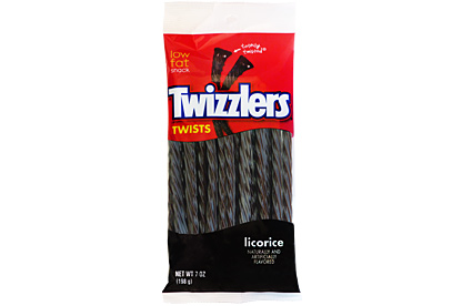 Twizzlers Twists 198g Licorice