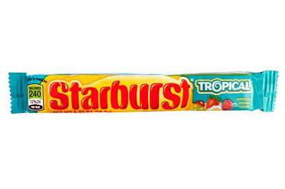 Starburst Tropical 58,7g