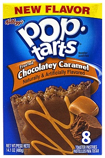 Pop Tarts Frosted Chocolatery Caramel 400g