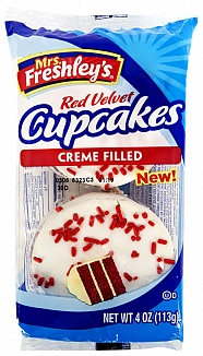 Mrs. Freshley´s Red velvet Cupcakes 113g