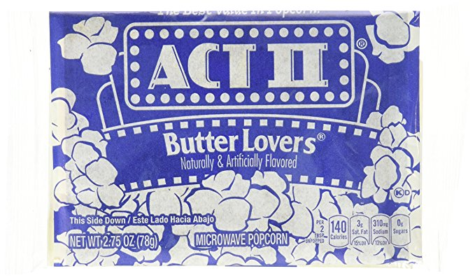ACT II Butter 78g microwave Popcorn