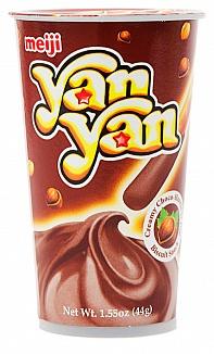 Meiji Hazelnut Yan Yan 44g