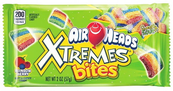 Airheads Xtremes Sour Rainbow 57g