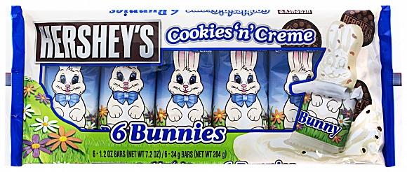 Hershey´s Cookies ´n´ Creme 204g bunny