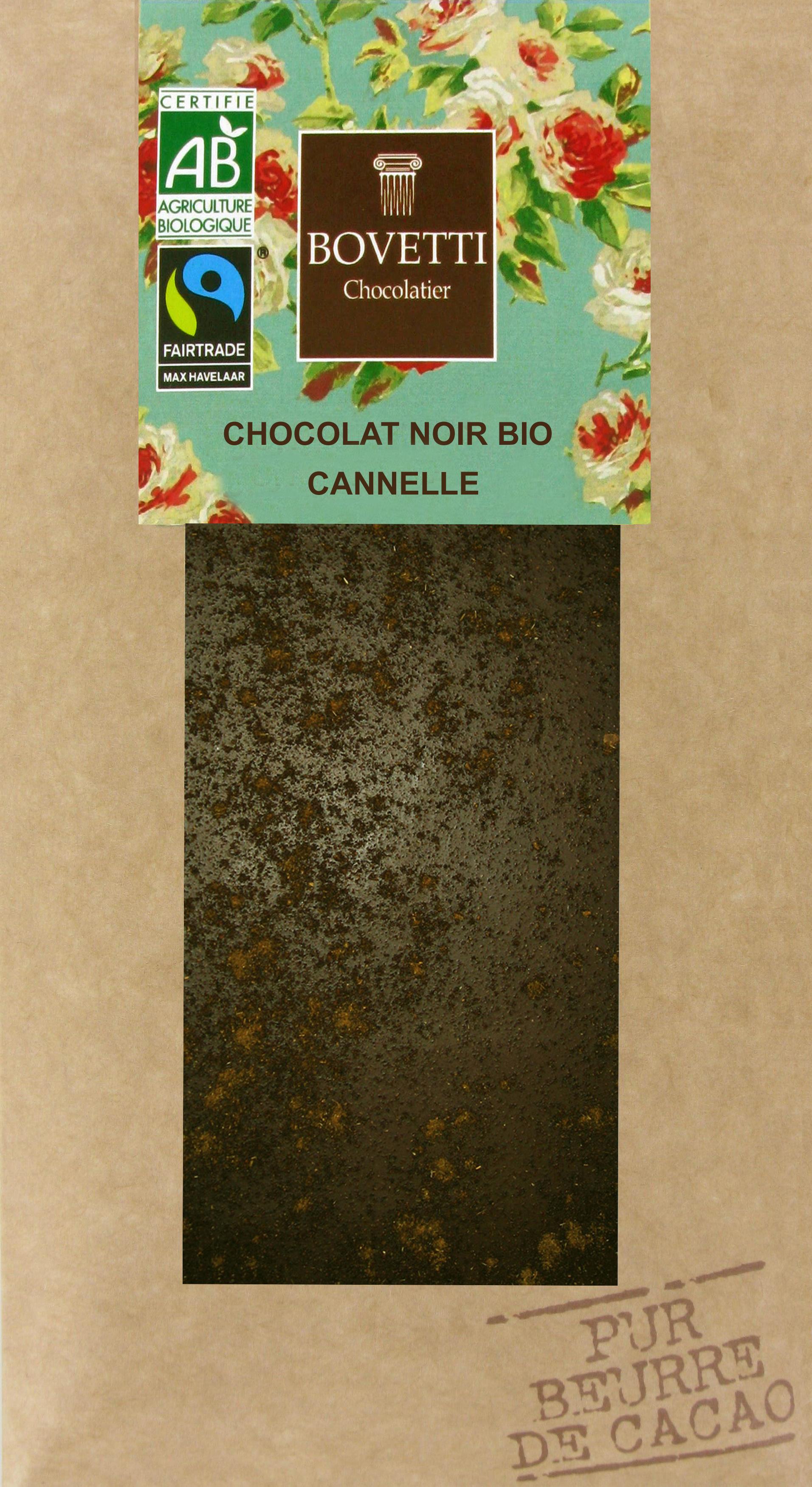 Bio Fair trade horká čokoláda so škoricou 100g
