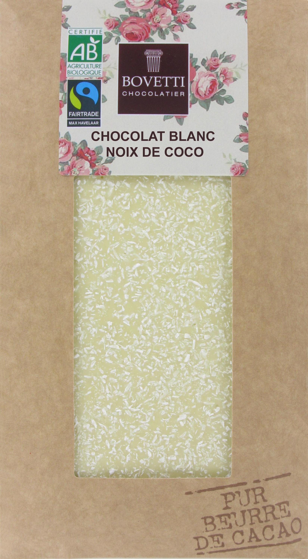 Bio Fair trade biela čokoláda s kokosom 100g
