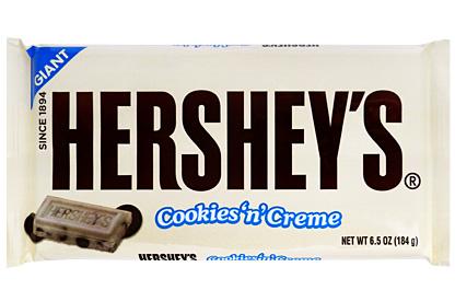 Hershey ´s Giant Cookies n Creme 184g
