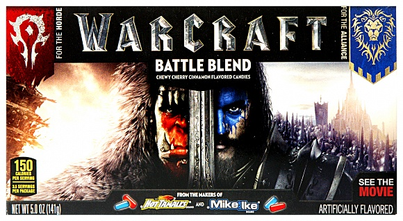 Mike and Ike Warcraft Battle Blend 141g