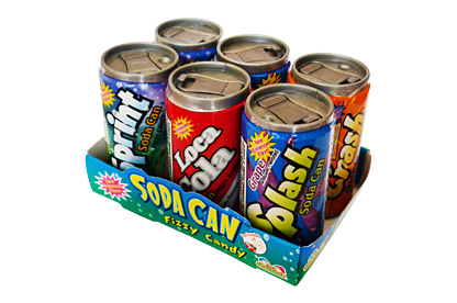 Soda Can Fizzy Candy 42g