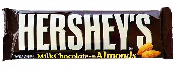 Hershey´s Milk Chocolate with Almonds 41g