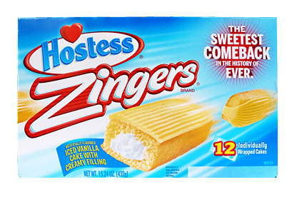 Hostess Zingers Vanilla 360 g