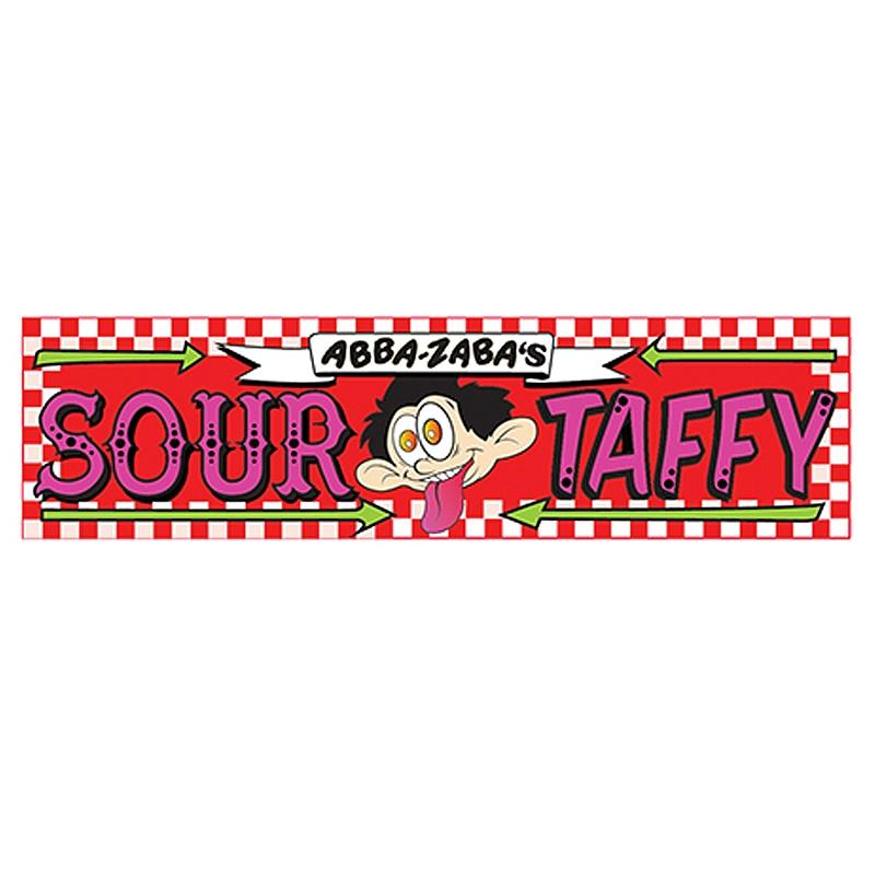 Abba Zabba Sour Taffy Wild Strawberry Bar 51 g
