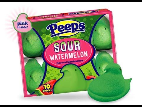 Peeps Sour Watermelon Marshmallow Chicks 85 g