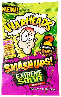 Warheads Extreme Sour Smashups Hard Candy 92g