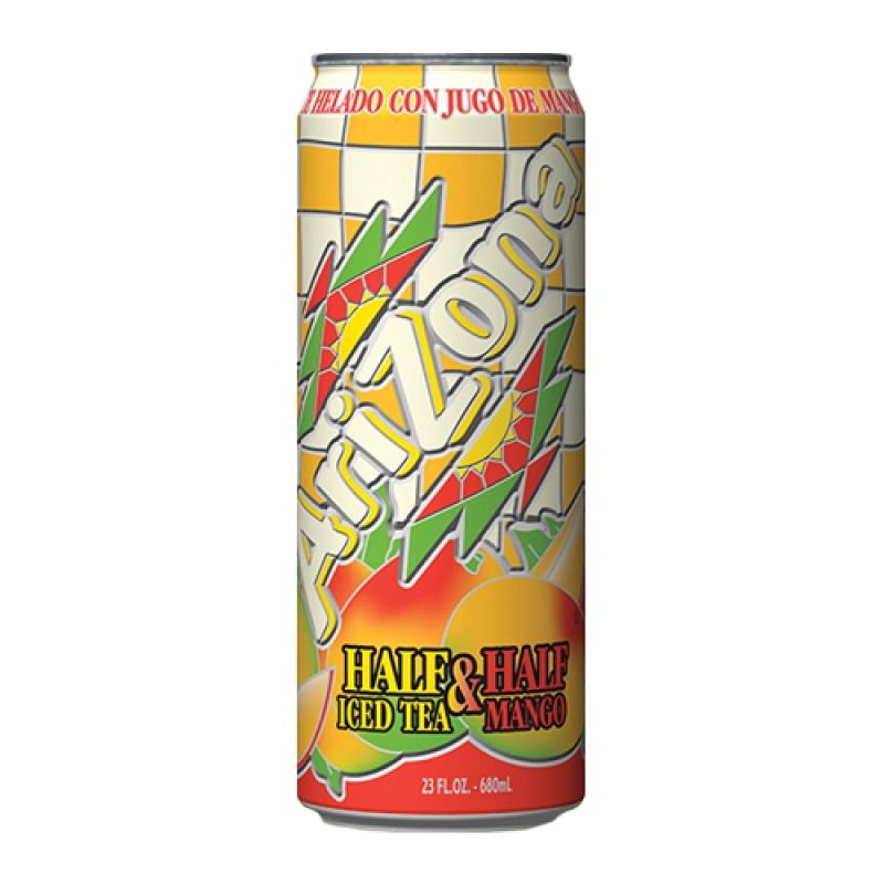 Arizona Half & Half Iced Tea Mango 680 ml