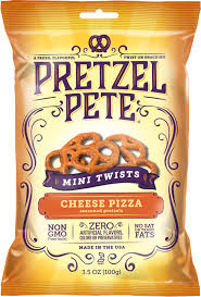 Pretzel Pete Mini Twists Cheese Pizza 100 g